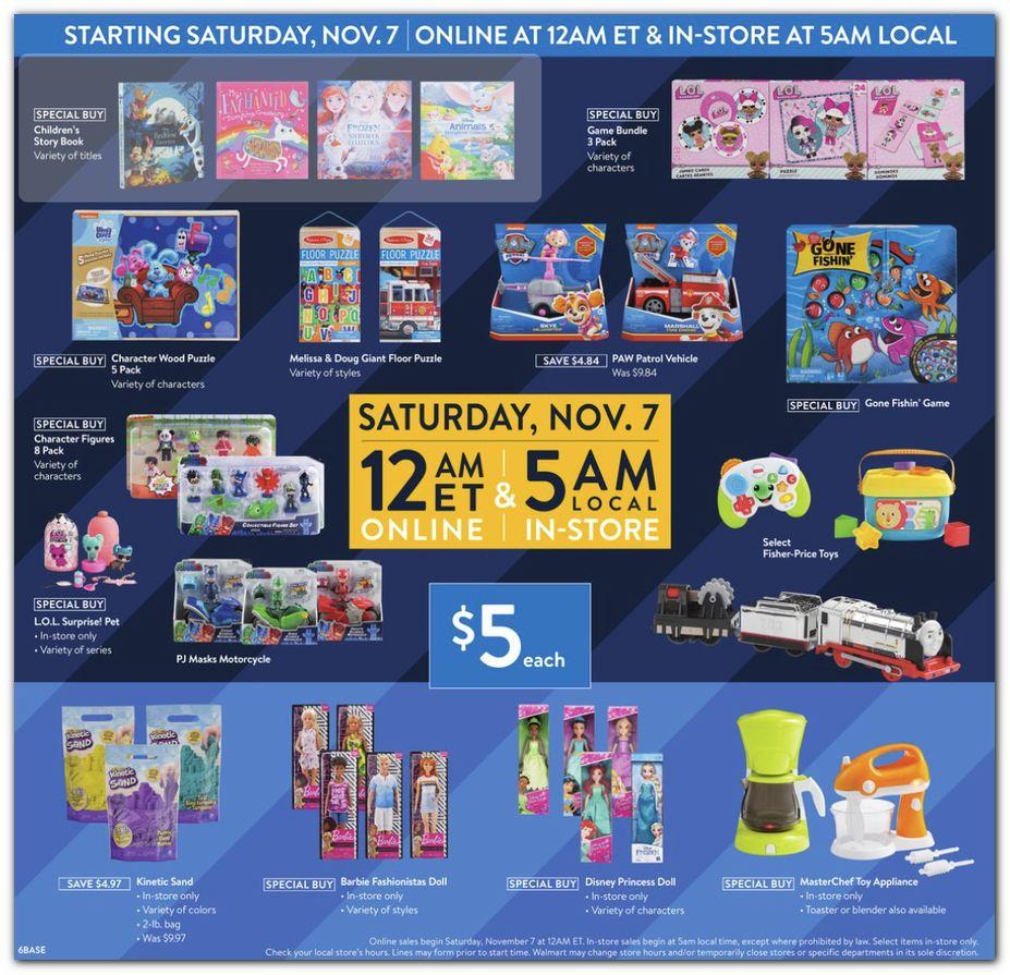 Walmart Black Friday 2020 Ad Deals Brad S Deals